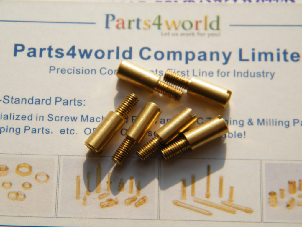 brass turned parts & special fasteners